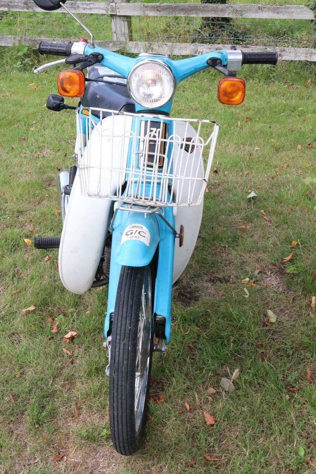 Honda C70 1980 runs and rides perfectly commuter or the back For Sale (picture 6 of 6)