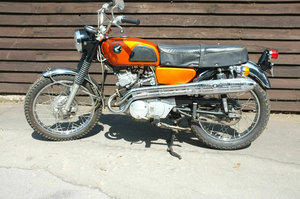 Picture of 1968 Honda CL175 CL 175 Scrambler KO US Import Staggering untouch SOLD