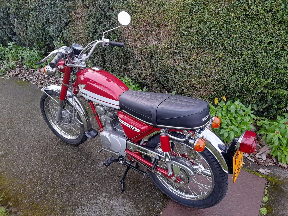 A 1973 Honda CB125 S - 30/06/2021 For Sale by Auction (picture 5 of 8)