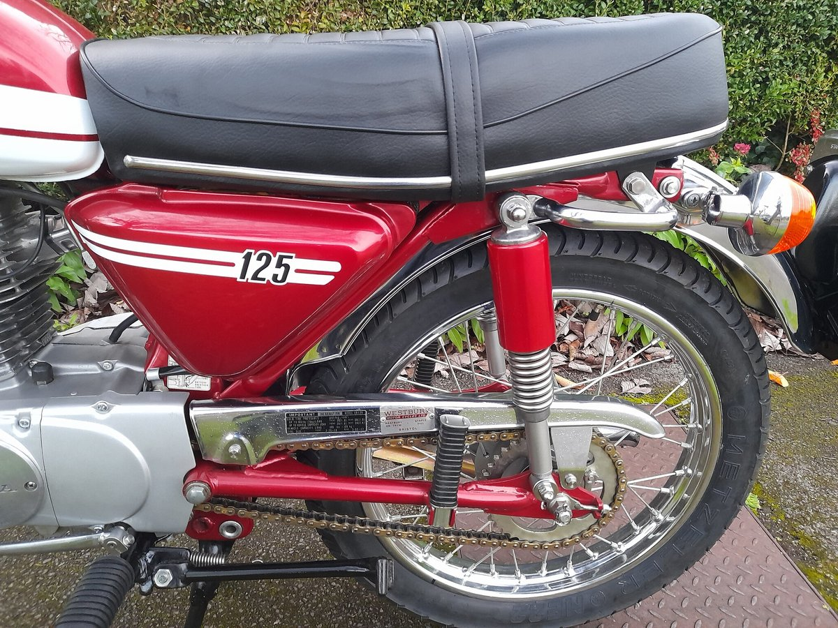 A 1973 Honda CB125 S - 30/06/2021 For Sale by Auction (picture 8 of 8)