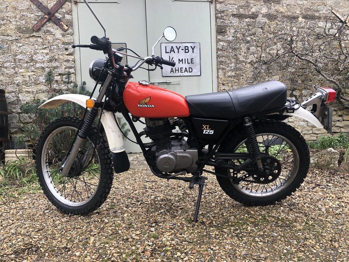 A 1976 Honda XL125 - 16/5/2021 For Sale by Auction (picture 4 of 12)