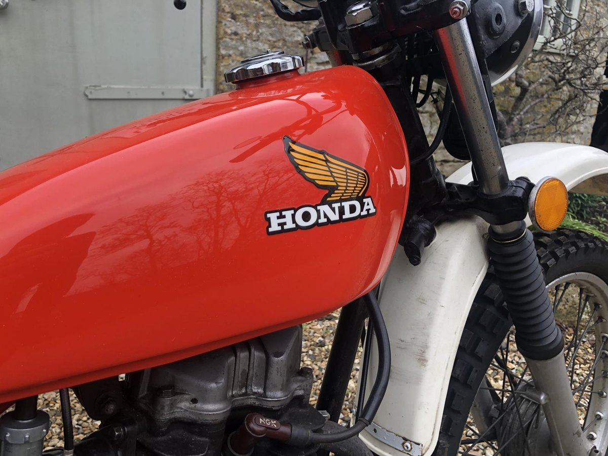A 1976 Honda XL125 - 16/5/2021 For Sale by Auction (picture 12 of 12)