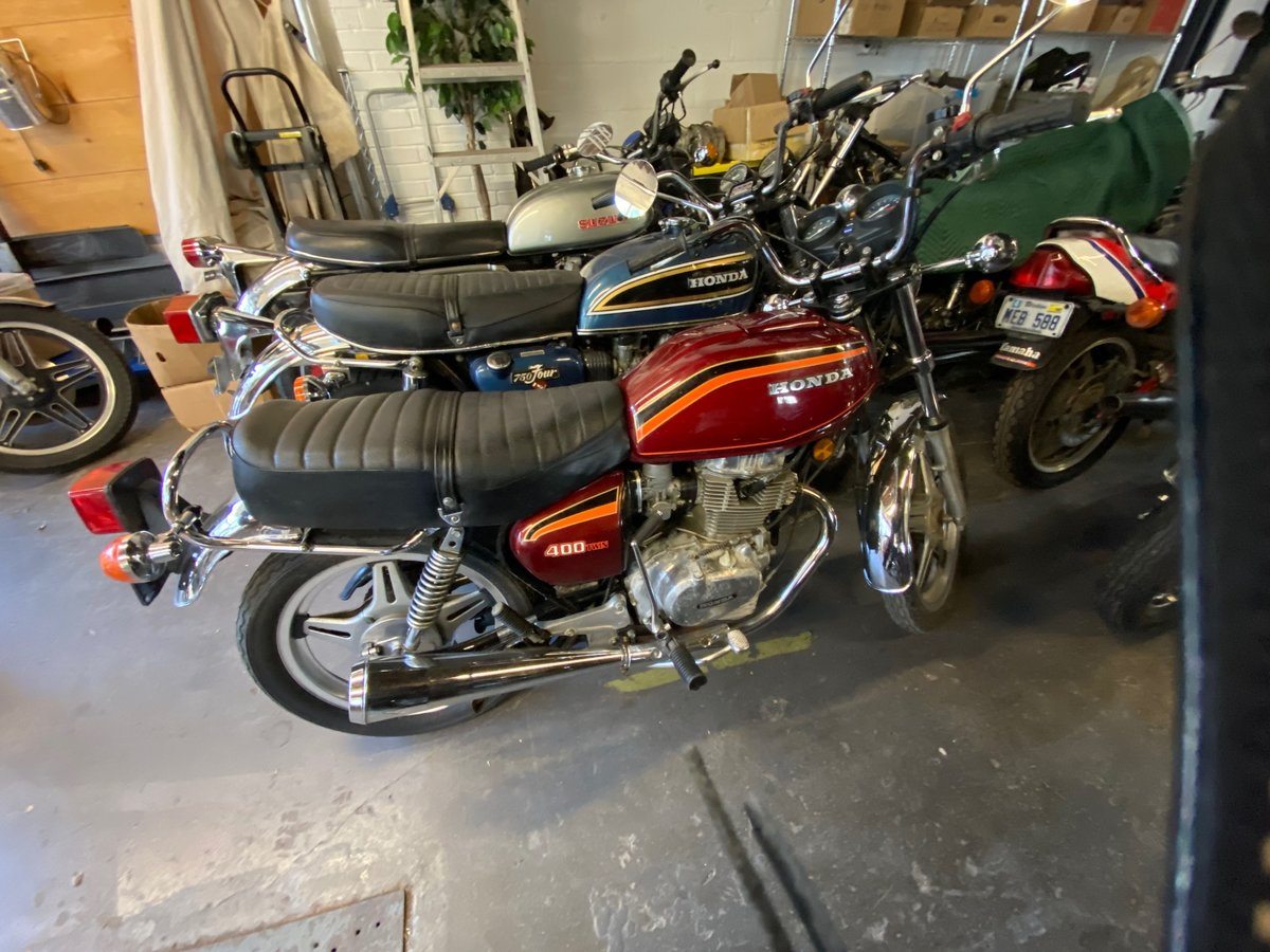 1978 Honda CB400T  21023 For Sale (picture 1 of 14)