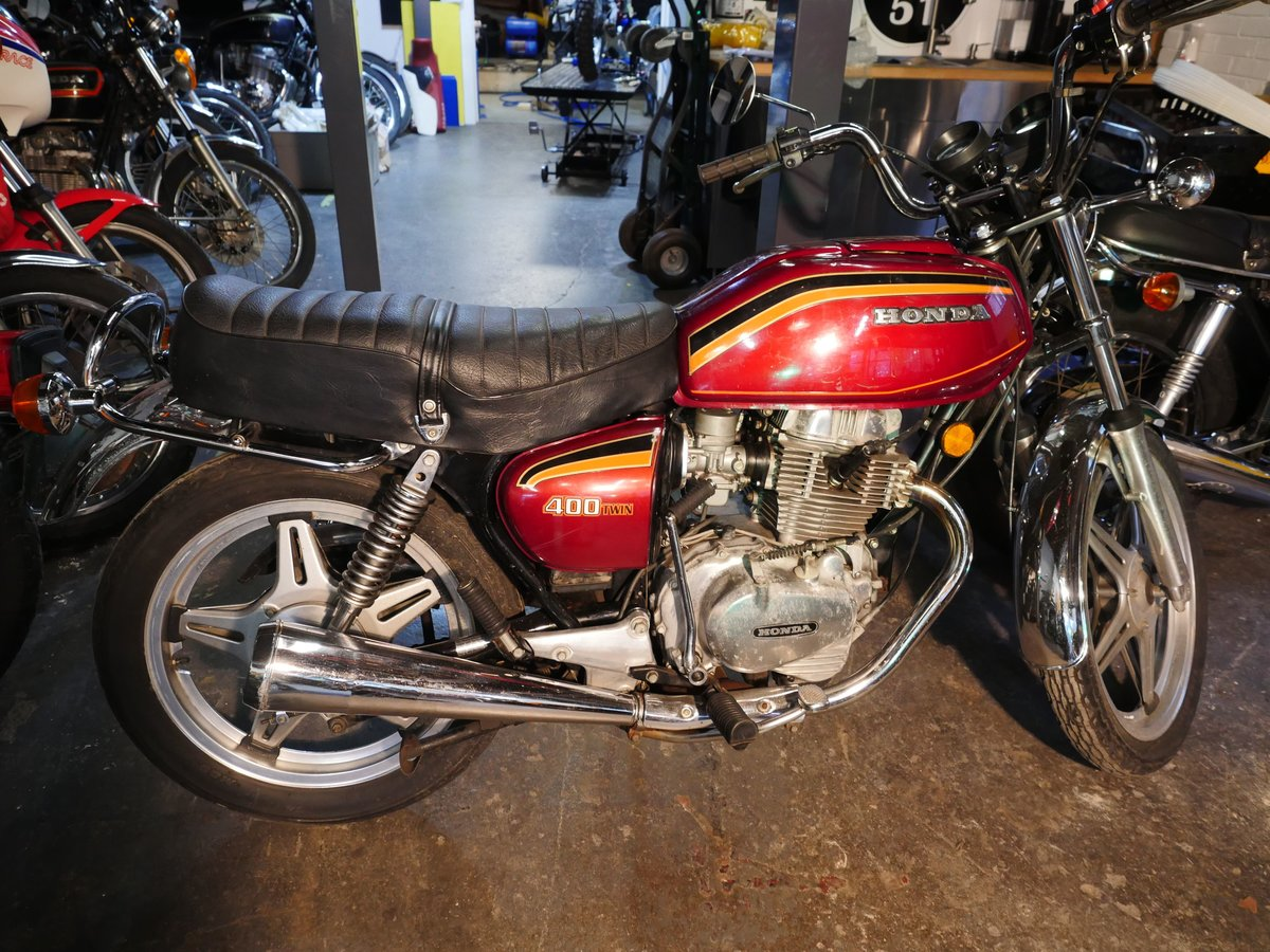 1978 Honda CB400T  21023 For Sale (picture 4 of 14)