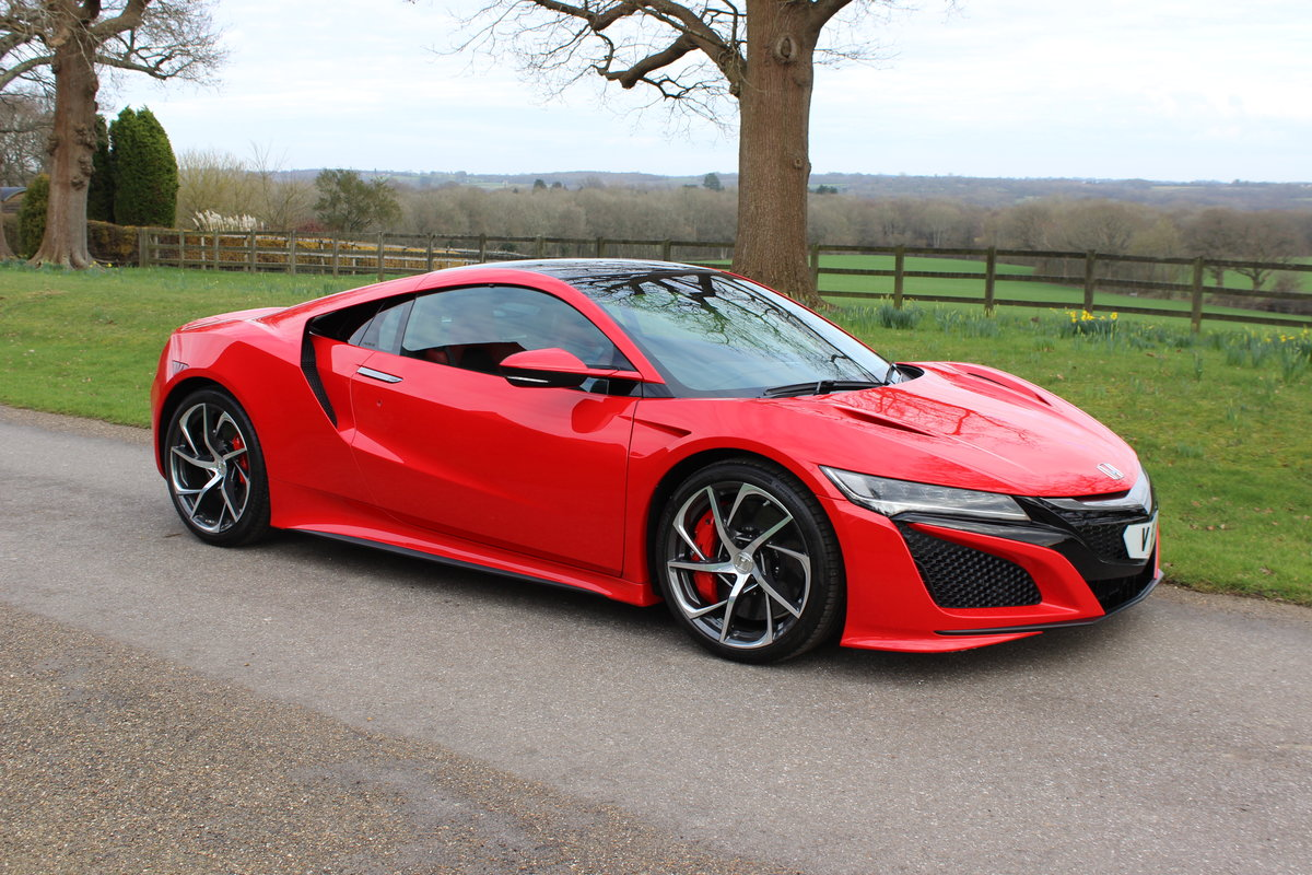 2017 New Honda NSX - 1,492 miles - As new For Sale (picture 2 of 12)