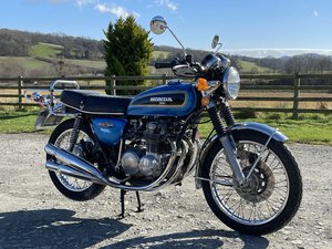 Picture of 1975 Lovely Honda CB500 K1 in Metallic Blue in Herefordshire For Sale