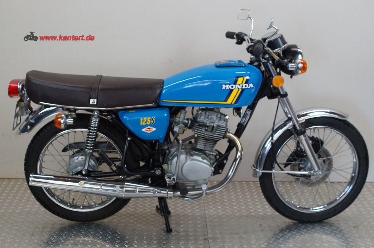 1977 Honda CB 125 S, 124 cc, 14 hp For Sale (picture 1 of 12)
