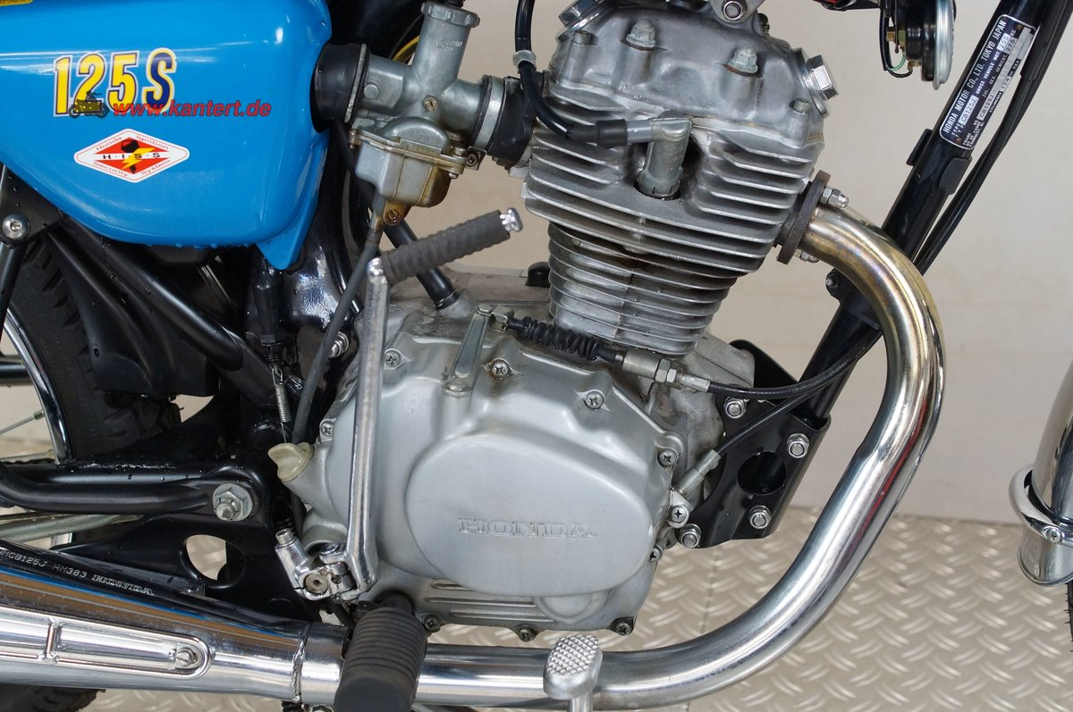1977 Honda CB 125 S, 124 cc, 14 hp For Sale (picture 7 of 12)