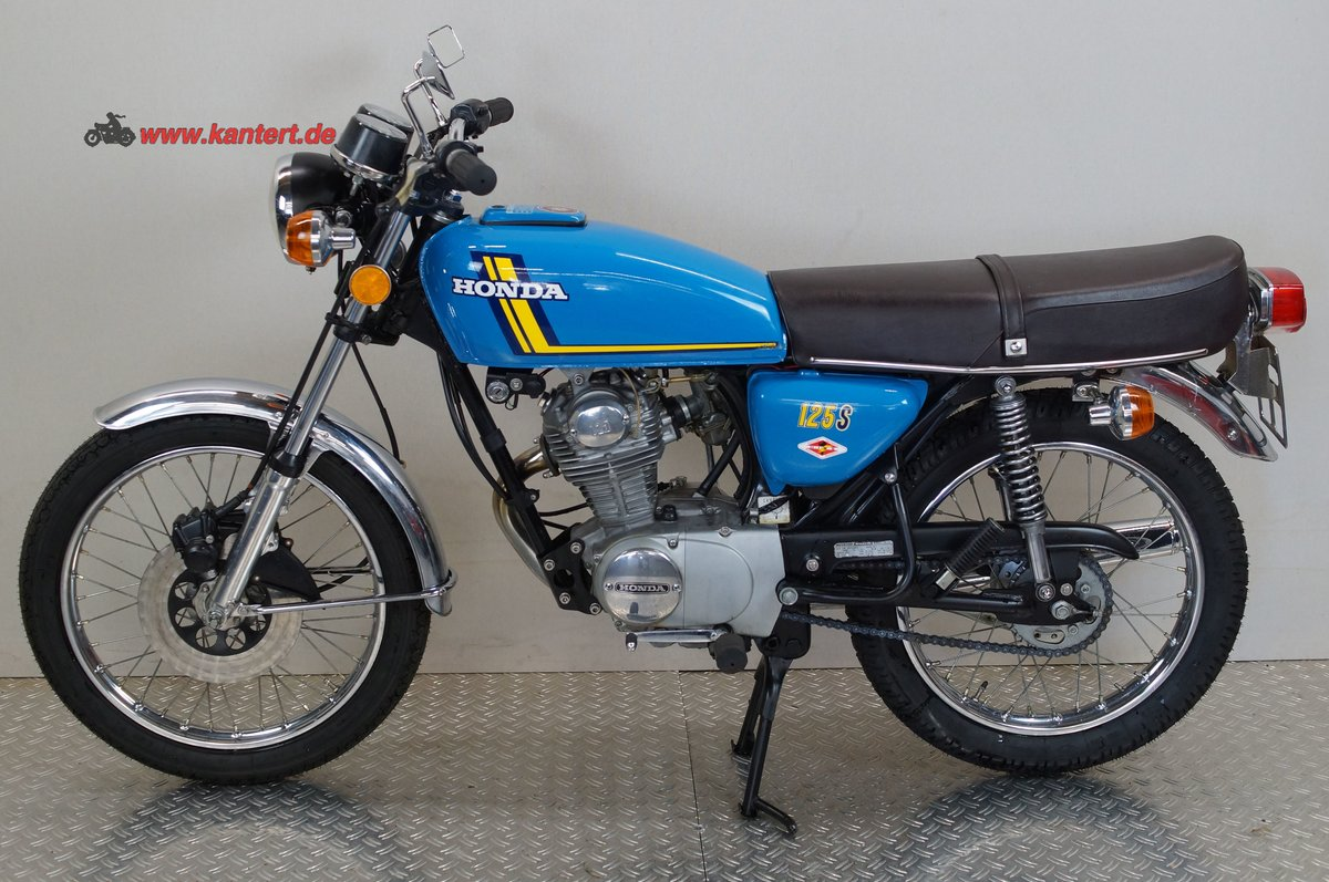 1977 Honda CB 125 S, 124 cc, 14 hp For Sale (picture 2 of 12)