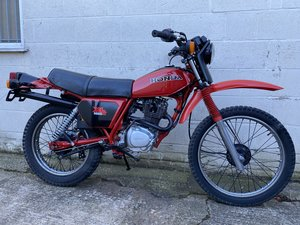 Picture of 1981 HONDA XL 185 CLASSIC TRAIL ENDURO ONE OWNER! £3995 PX TL 125 For Sale