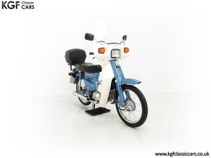 Picture of 1991 A Factory Original UK Honda C90-G Cub with 193 Miles. For Sale