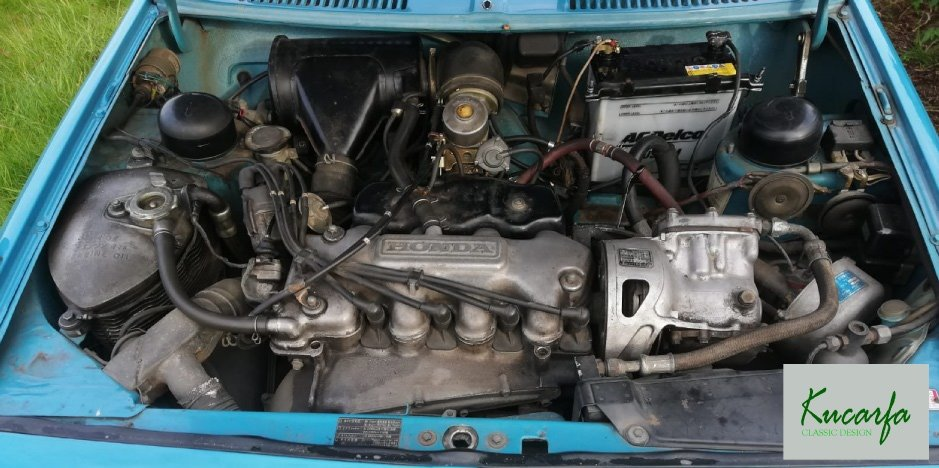 1972 Honda 1300 Coupe RHD Air-cooled engine For Sale (picture 5 of 6)