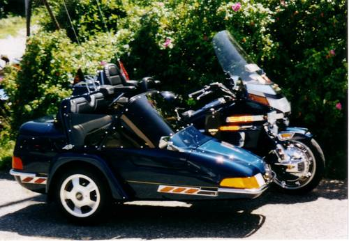 1994 Goldwing GL1500SE with sidecar , & trailer For Sale (picture 1 of 6)