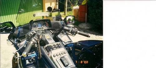 1994 Goldwing GL1500SE with sidecar , & trailer For Sale (picture 3 of 6)
