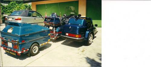 1994 Goldwing GL1500SE with sidecar , & trailer For Sale (picture 4 of 6)