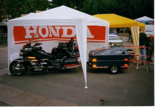 1994 Goldwing GL1500SE with sidecar , & trailer For Sale (picture 6 of 6)