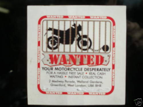 webuyanyclassicmotorcycle@gmail.com Wanted (picture 4 of 6)