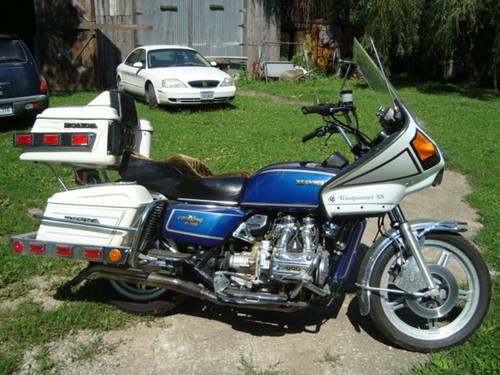 1978 Honda GL1000 Gold Wing For Sale (picture 1 of 6)