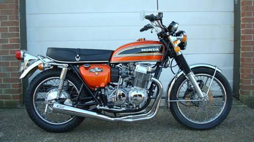 Honda Cb 750 Four K4 Usa 1974 M 1 Owner 18991 Miles Sold Car