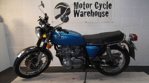 1975 superb CB 550 four  For Sale (picture 1 of 6)