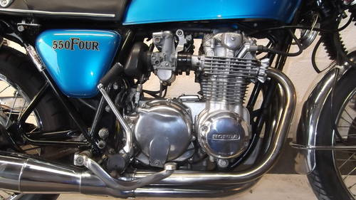 1975 superb CB 550 four  For Sale (picture 5 of 6)