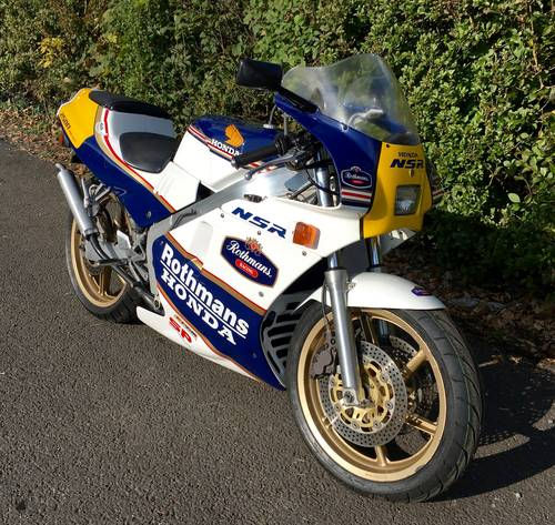 1988 Honda NSR250R SP RJ4 Rothmans - Only 5,000kms For Sale (picture 2 of 6)