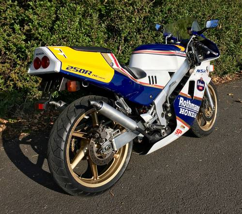 1988 Honda NSR250R SP RJ4 Rothmans - Only 5,000kms For Sale (picture 3 of 6)