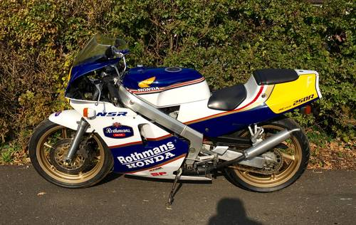 1988 Honda NSR250R SP RJ4 Rothmans - Only 5,000kms For Sale (picture 4 of 6)