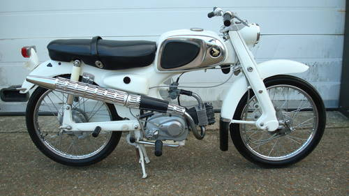 Honda CA 110 SPORT 50 1962 **(6570 miles)** SOLD (picture 1 of 6)