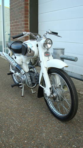 Honda CA 110 SPORT 50 1962 **(6570 miles)** SOLD (picture 2 of 6)