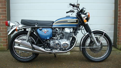 Honda CB750 K5 USA 1975-N **(16661 miles)** SOLD (picture 1 of 6)