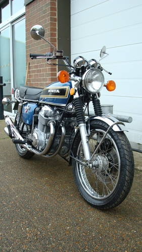 Honda CB750 K5 USA 1975-N **(16661 miles)** SOLD (picture 2 of 6)