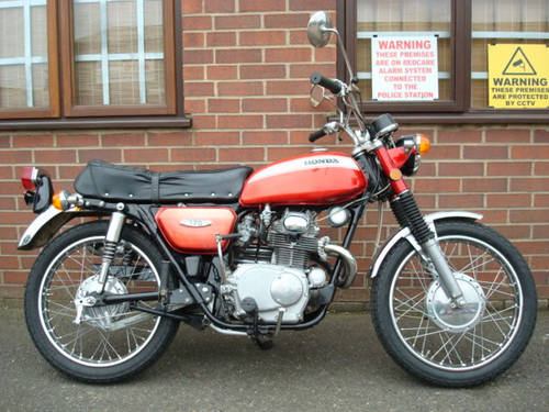 Honda CL 175 K4 1970-J **(10396 miles)** SOLD (picture 1 of 2)