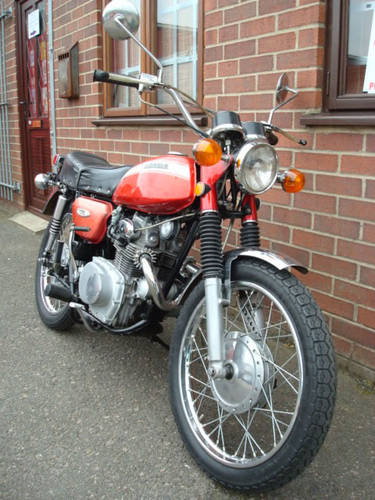 Honda CL 175 K4 1970-J **(10396 miles)** SOLD (picture 2 of 2)