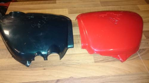 1971 Fuel tank and side covers OEM For Sale (picture 5 of 6)