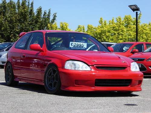 1998 Honda Civic 1.6 Type R EK9 TRACK CAR B20B Conversion 3dr JDM For Sale (picture 1 of 6)