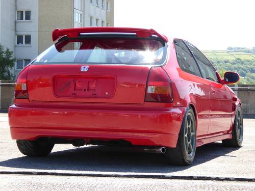 1998 Honda Civic 1.6 Type R EK9 TRACK CAR B20B Conversion 3dr JDM For Sale (picture 3 of 6)
