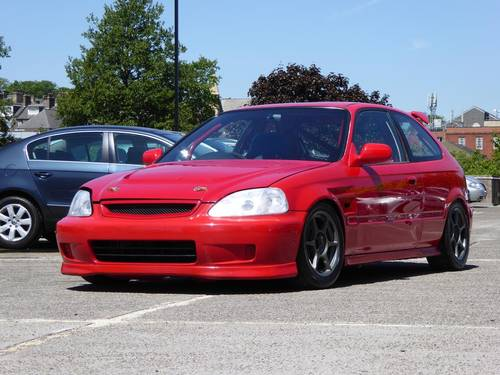 1998 Honda Civic 1.6 Type R EK9 TRACK CAR B20B Conversion 3dr JDM For Sale (picture 5 of 6)