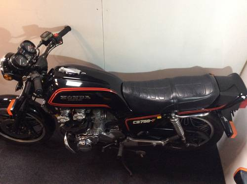 HONDA CB750-F 1980 VERY NICE UNRESTORED CONDITION For Sale (picture 4 of 5)