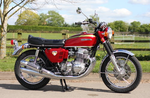 Honda CB750 CB 750 K0 1969 Candy Ruby Red, **THE BEST IN THE SOLD (picture 1 of 6)