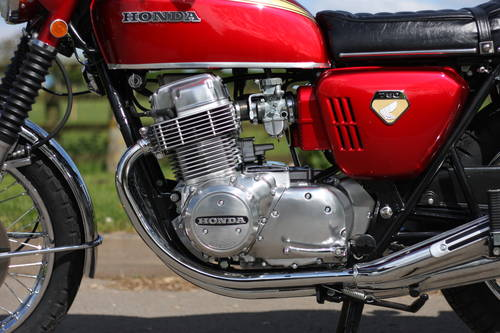 Honda CB750 CB 750 K0 1969 Candy Ruby Red, **THE BEST IN THE SOLD (picture 5 of 6)