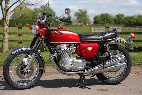 Honda CB750 CB 750 K0 1969 Candy Ruby Red, **THE BEST IN THE SOLD (picture 6 of 6)