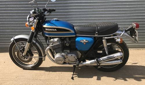 1977 Honda CB750 Four for auction June 17th SOLD by Auction (picture 1 of 3)