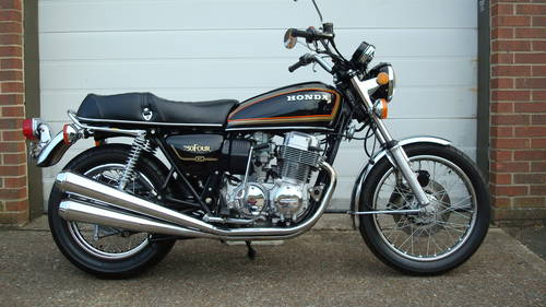 Honda Cb750k78 750 Four K8 1978 S 5073 Miles Sold Car And Classic