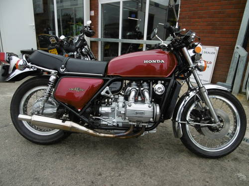 1976 Honda Goldwing GL1000 Restored  SOLD (picture 1 of 6)