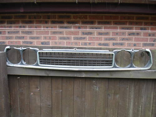 1980 Honda Accord saloon grille For Sale (picture 1 of 3)