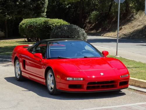 1990 Acura NSX, early 181st, 23744 mi, original paint For Sale (picture 1 of 6)