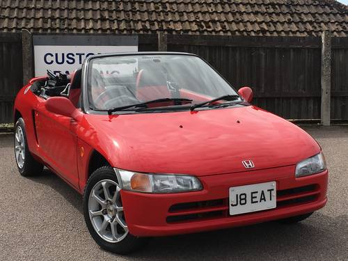 Very Rare 1991 J honda Beat 0.7 Roadster Convertible For Sale (picture 1 of 6)