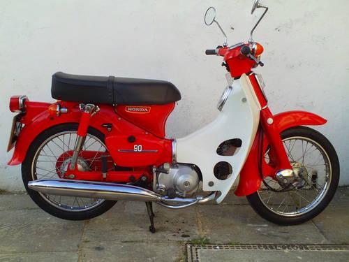 1981 HONDA C90 CUB SOLD (picture 1 of 6)
