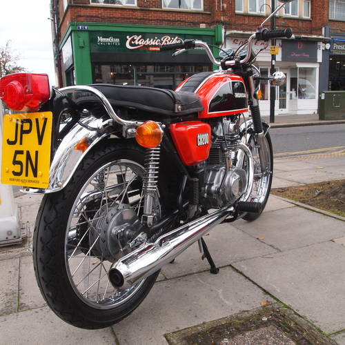 1975 CB200 Genuine UK Bike, In Outstanding Condition. SOLD (picture 1 of 6)